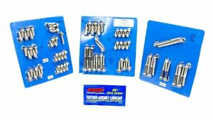 Arp Engine accy Fastener Kit Hex Polished Ford Cleveland modified P n 554 9604
