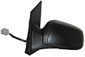 Primed Wing Side Mirror Convex Heated Lh Fits Ford Focus Hatchback 1439073