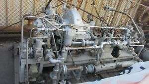 Terry Steam Turbine Model Bhbscs Rated Power 350bhp Drawing H 8203