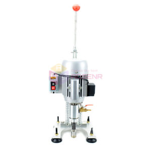 Small Single arm Glass Drilling Machine Glass Stone Tile Tapper Perforator