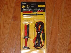 Fluke Suregrip Industrial Test Lead Set Tl220