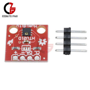 Temperature And Humidity Htu21d Sensor Module Board Breakout Module For Arduino