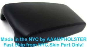 Fits 09 14 Nissan Maxima Black Pvc Leather Center Console Lid Armrest Cover Skin