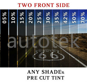 Precut Film Front Two Door Windows Any Tint Shade For Chevrolet Silverado 1500