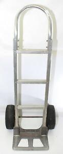 Magliner General Purpose Hand Truck 49 5 In Type A Nose 500 Lb Aluminum