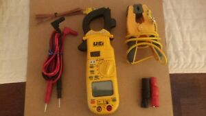 Uei Test Instruments Dl379b Digital Hvac Clamp Meter Multi meter With Test Leads