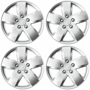 New Wheel Covers Hub Caps Fits 2007 2008 Nissan Altima 16 Silver Set Of Four