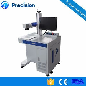 Ipg Raycus Max 10w 20w 30w Fiber Laser Marking Machine For Metal