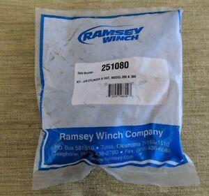New Ramsey Winch Air Cylinder And Nut Kit 251080