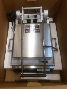 Star Gr14sn 14 Commercial Sandwich Panini Grill smooth 240 Volt New In Box