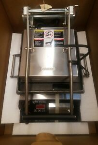 Star Gr10it 10 Commercial Sandwich Panini Grill smooth 240v New In Box