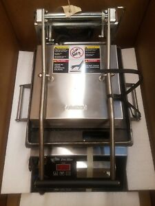 Star Cg10it2 10 Commercial Sandwich Panini Grill grooved 120v New In Box