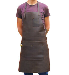 Professional Leather Work Apron From One Leaf Pro Ktx