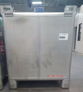 Used 400 Gallon Stainless Steel Tote Tanks Hoover Ibc