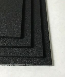 Black Marine Board Hdpe Polyethylene Plastic Sheet 1 4 X 48 X 24 Pack Of 4