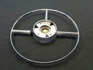 1950 50 Buick Super Eight Dyna Flow Steering Wheel Horn Button 1340519