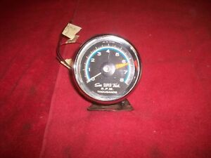 Vintage 1960 S Sun Blue Line 12volt 8 Cylinder 8k Tachometer Day2 Tested Working