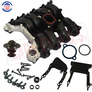 Engine Intake Manifold W Thermostat Gaskets For Ford Lincoln Mercury 4 6l V8