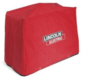 Lincoln Electric Eagle 10 000 Plus Welder Generator Canvas Protective Cover Red