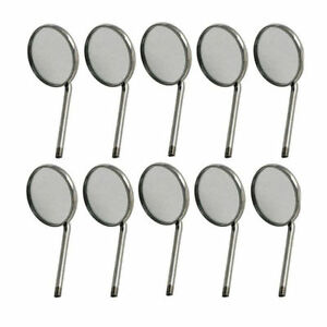 50x Disposable Dental Mouth Mirrors 5 Best Quality Dental Instruments