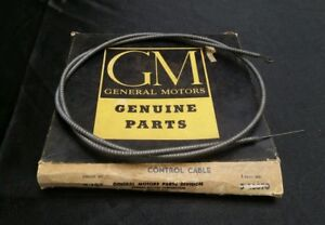 Vintage Nos 1955 55 1956 56 Chevy Chevrolet Bel Air Heater Fresh Air Inlet Cable