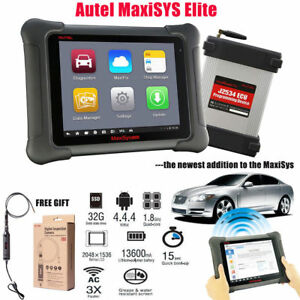 Autel Maxisys Elite Diagnostic Tool Full Obd2 Automotive Scanner J2534 mv108