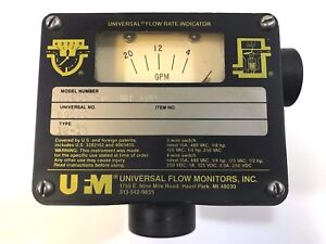 Universal Flow Rate Indicator Wb20gm 6 3nr 10d