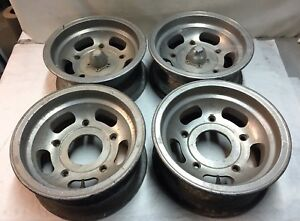 Vw Volkswagen Ansen Slot Vintage Mags Wheels Rims Wide 5 Vw Bug Bus 15x7 J13824