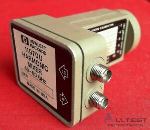 Hp Agilent Keysight 11970u Waveguide Harmonic Mixer 40 To 60 Ghz