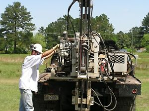 Drilling Rig Simco 2400 Truck Mounted Drill Team