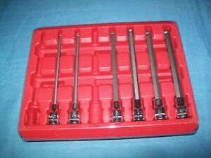 Mac Tools Sxmal8bpt 3 8 Dr 4 To 10 Mm Speed Ball End Hex Socket Driver Set