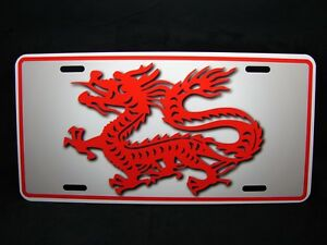 Dragon Metal Novelty License Plate Tag For Cars Chinese Dragon