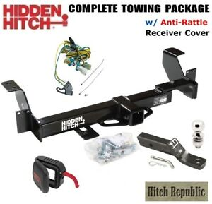 Fits 2002 2007 Buick Rendezvous Trailer Hitch Package W Anti Rattle