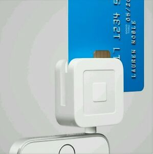 Square Credit Card Reader For Magnetic Strip Chip Credit Cards Used