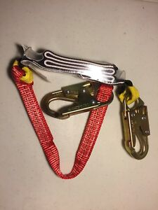 3 Lanyard For Saftey Harness New