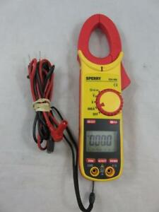 Sperry Dsa 660 6 Function Auto ranging 600a Ac Digital Clamp Multimeter