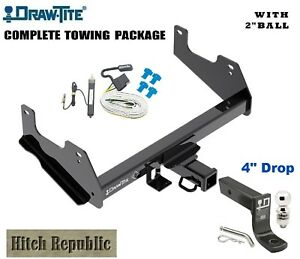 6k Class 3 Trailer Hitch Package W 2 Ball For 2015 2018 Ford F150 Pickup 76136