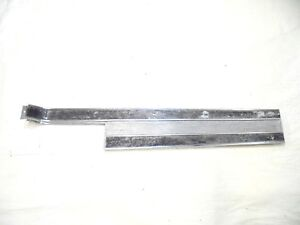 1965 1966 Mustang Console Center Plate Trim