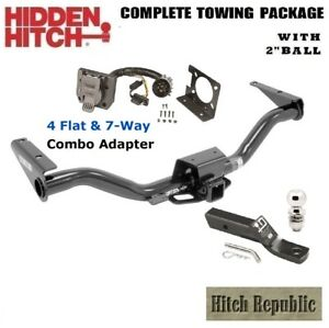 6k Trailer Hitch Package W 2 Ball For 2015 2018 Chevy Colorado W Tow Pkg 87675