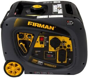 Firman Power Equipment Whisper Series 3000 watt Gasoline Powered Recoil Start