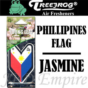 Treefrog Wakaba Young Leaf Philippine Jasmine Air Freshener Jdm Car Auto