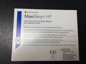 Dental Hp Temporary Crown Bridge Automix Maxitemp Equivalent To Luxatemp A2