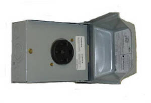 Ge U054p Outdoor Raintite Receptacle Enclosure 50 Amp