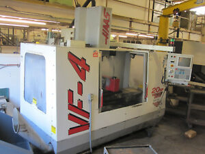 Haas Vf 4 Vertical Machining Center With 4th Axis