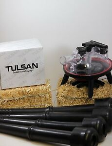 4 Rubber Inflations And Milking Claw 240cc For Cows Combo By Tulsan