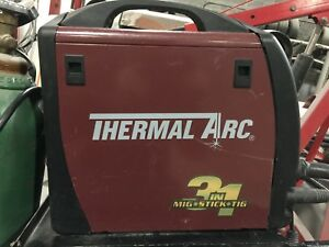 Thermal Arc 3 In 1 Mig Stick Tig Welder