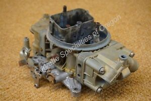 1967 Chevelle Holley 3310 Carburetor Camaro 3878261 Eh 780 Cfm 396 375 L78 67