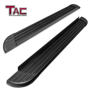 For 2011 2019 Jeep Grand Cherokee Aluminum Running Board Side Step Rail Nerf Bar