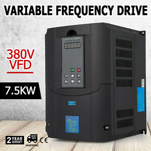 7 5kw 10hp Vfd 19a 380v Variable Frequency Drive Speed Vsd Drive Inverter