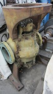 Allis chalmers Auxiliary Circulating Pump 1750gpm 22 4 tdh Size 10x10 59517
